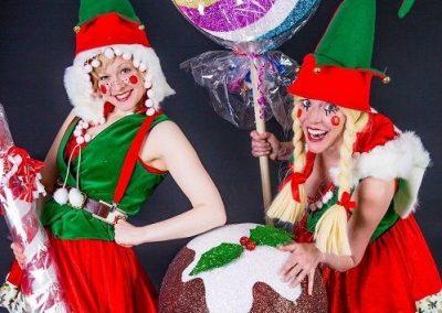 Hogarth Christmas Characters – Walkabout Characters   UK