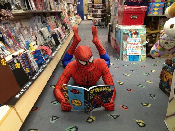 Booking for Spiderman Walkabout