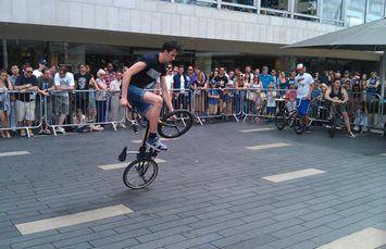 Bence – BMX Bicycle Freestyle Stunts Performer | UK