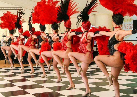 booking agent show girls themed dancers
