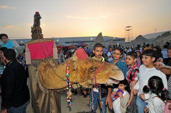 Amir & Camel – Walkabout Characters | UK