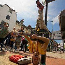 Ivan – Upside Down Busker |  UK