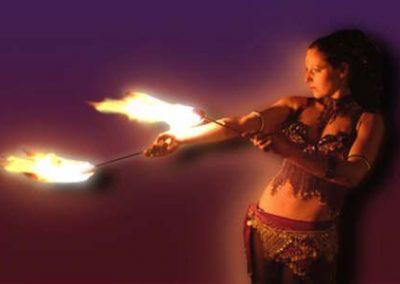 Miss Trixsta – Fire Performer & Stilt Walker | UK