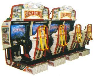Sega Rally 2 (4 Seater) – Arcade Game | UK