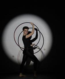 Silvia – Digital Hoola Hoop Performer | UK