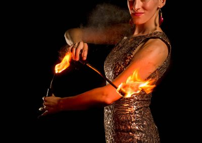 Loz Because – Fire Performer | UK