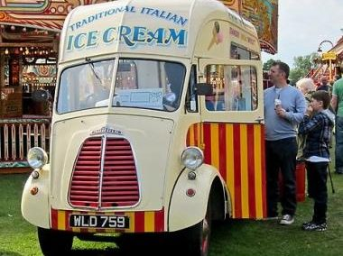 1950s Ice Cream Van – Vintage Van |  UK