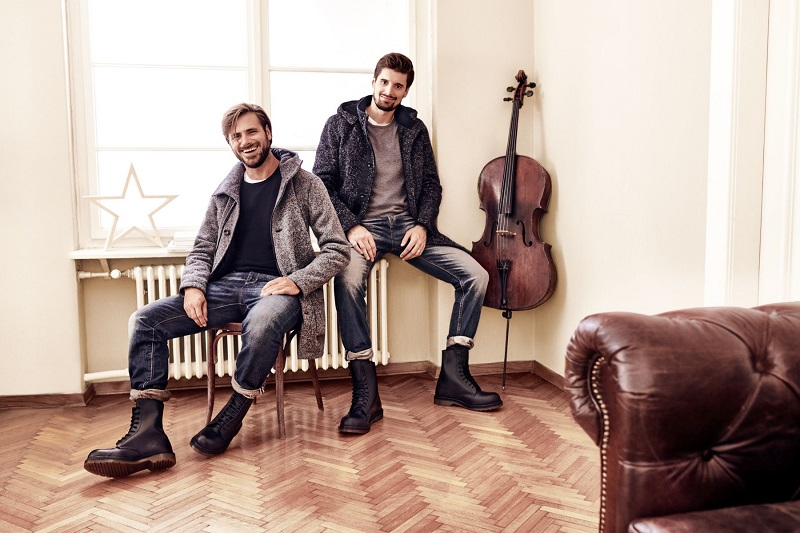 Booking agent for 2cellos