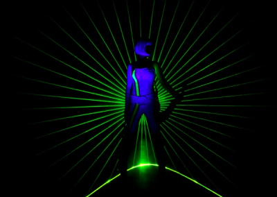 The Laser Violinist – Electric Violin & Laser Show | UK