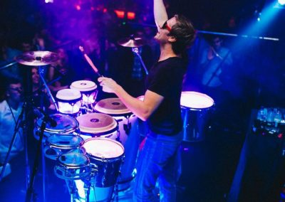 Afishal – Walkabout LED Bongos | London | UK
