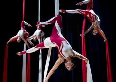 Aerial Silks Acrobats | UK