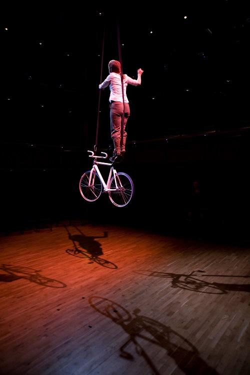Booking for Alice aerial bike performer