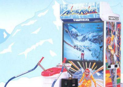 Alpine Racer – Arcade Game   UK