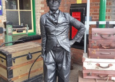 Ant – Lord Nelson & Charlie Chaplin Statue | UK