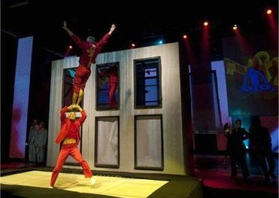 Art on a Trampoline – Acrobatic Show | France