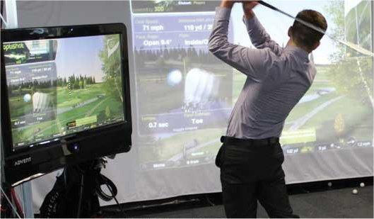 booking agent for golf simulator