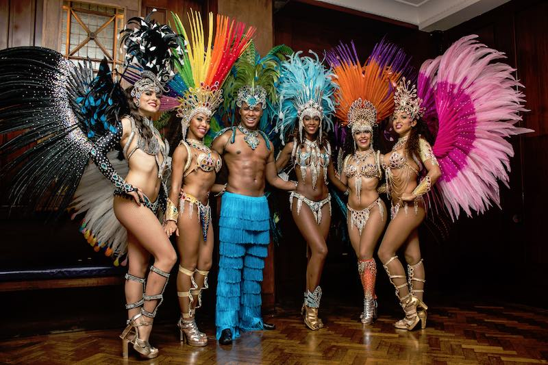 Booking agent for Brazilian Fantasy dance show