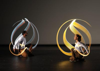 Calligraphy Show & Light Show – France