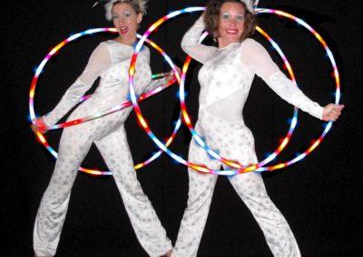 Christmas Glow Show – Hula Hoop Show   UK