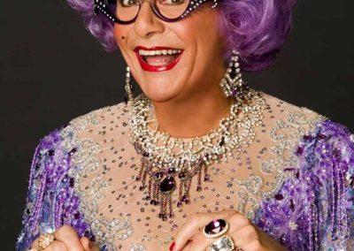Dame Edna Everage   Event Host   UK