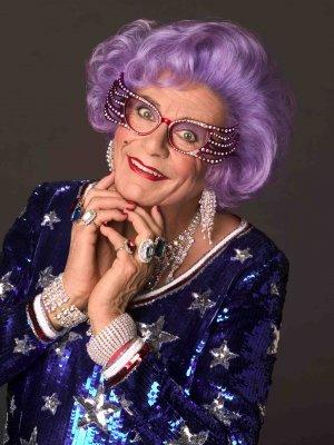 Booking agent for Dame Edna Everage