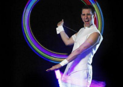 Dapper – LED & Glow Performer | Bristol | UK