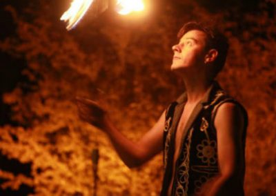 Dave – Fire Performer | UK