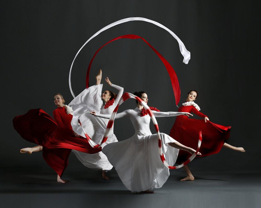 booking agent for Divine Ribbon & Flag Dancers