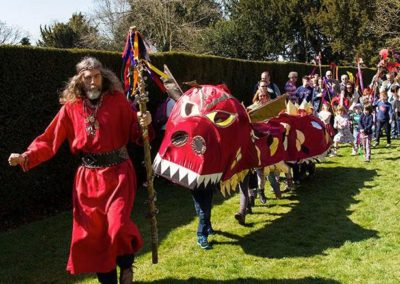 Dragon Days – Walkabout Dragons & Performers | Wales| UK