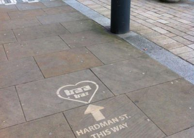 Eko Clean Advertising – Pavement Artists | Liverpool| North West| UK