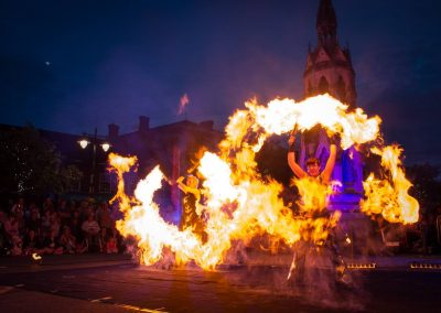 Flame Oz – Fire Show   UK