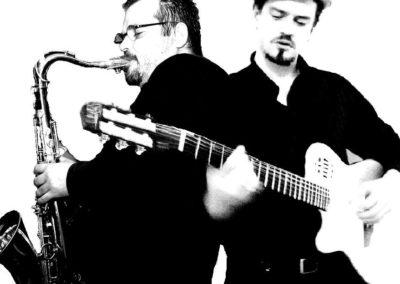 Huw & Roberto – Guitar & Sax Duo | UK