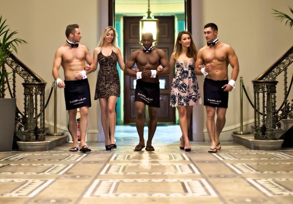 Curry Rivel - Butlers in the Buff Need New Talent