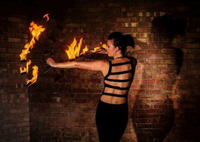 Jen The Roo – Fire Performer | UK
