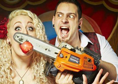 Johnny Strange – Bizarre Circus Show | UK