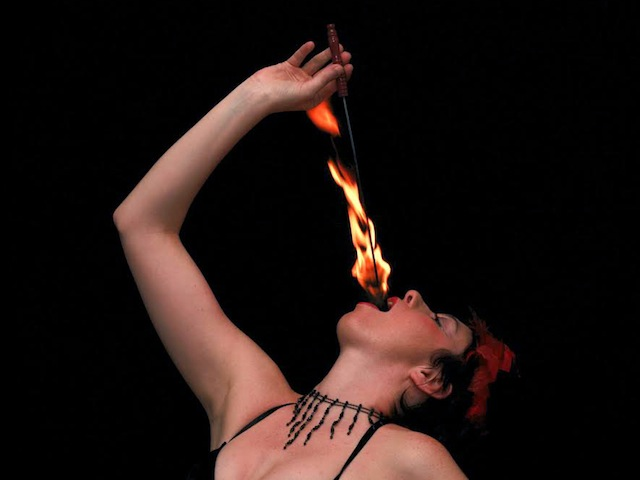 booking agent for Karine Fire Performer