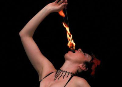 Karine – Fire Performer | UK