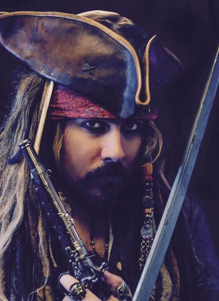 booking agent for Jack Sparrow Lookalike