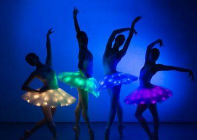 LED Ballerinas – Modern Ballet Show  | UK
