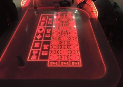 LED Casino Tables – Gambling Entertainment | London | UK