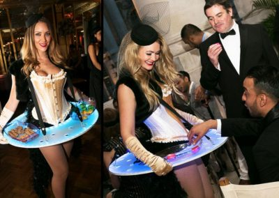LED Costumes & Roaming Tables – Food & Drink Hostesses | London | UK