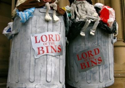 Lord of the Bins – Walkabout Characters | UK