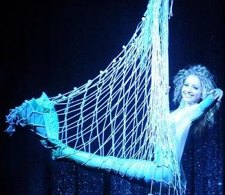 Aerialists, Hungary & Europe: Mermaid & Diver Show