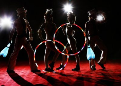 Moon presents Halo – LED Performers | UK
