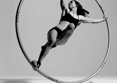 Nadia – LED Cyr Wheel Performer | London | UK