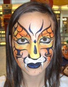 Booking Agent For Nina Face Painter Contraband Events