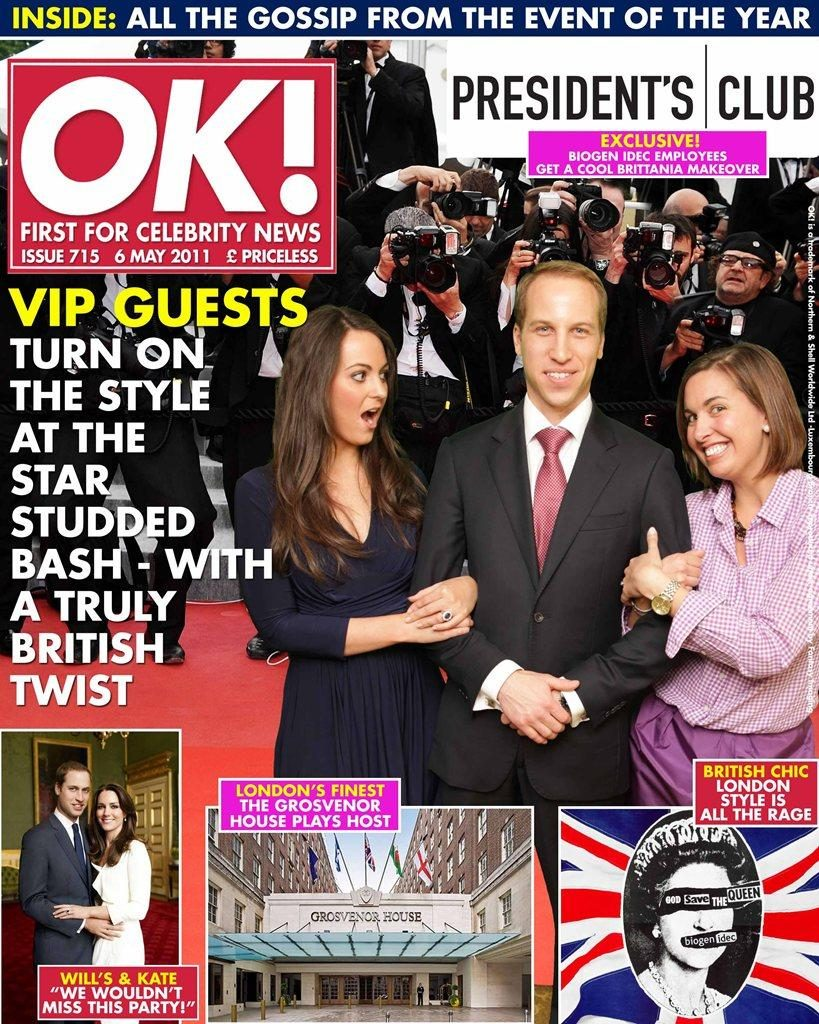 booking agent for ok magazine