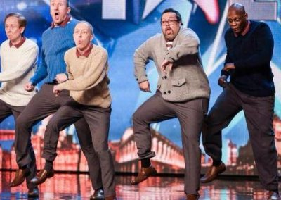 Old Men Grooving- Britain's Got Talent Finalist 2015 | UK