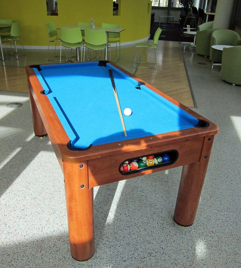 booking agent for pool tables
