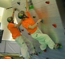 booking agent for rotating climbing walls